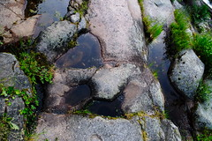 Senda de los molinos, stone path