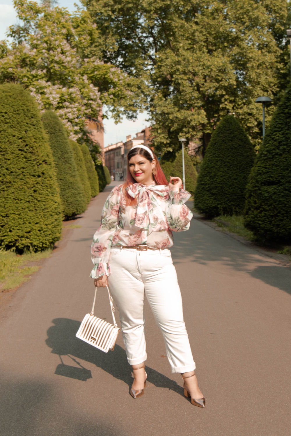 outfit curvy plus size come indossare il bianco (9)