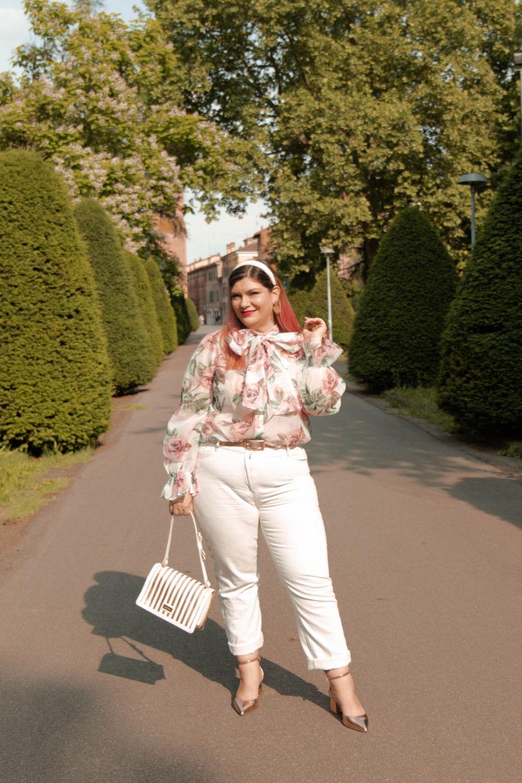 outfit curvy plus size come indossare il bianco (9)