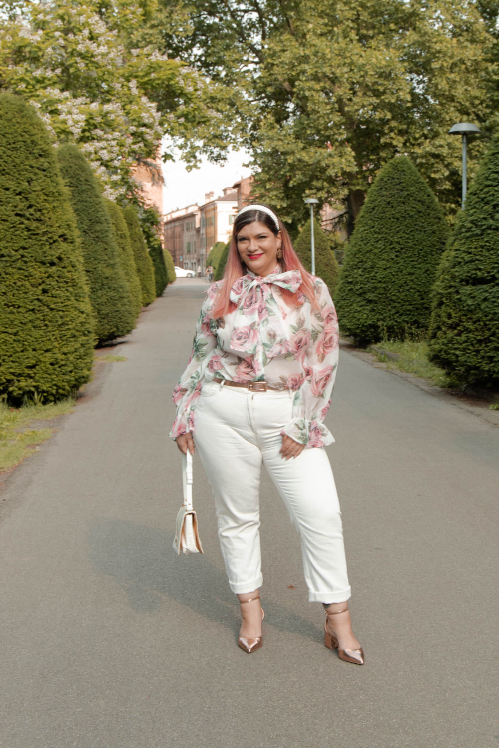outfit curvy plus size come indossare il bianco (7)