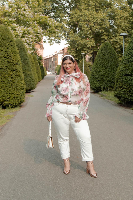 outfit curvy plus size come indossare il bianco (7)
