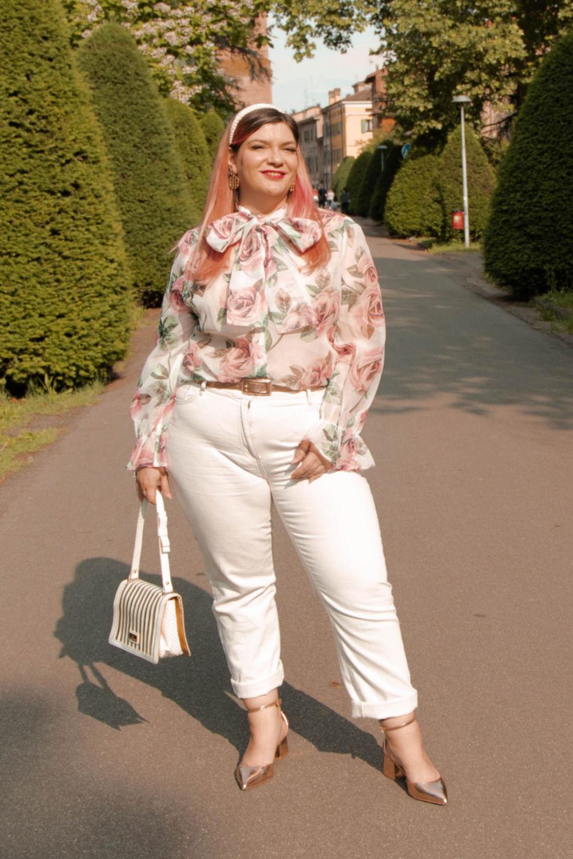 outfit curvy plus size come indossare il bianco (6)