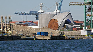 Deconstruction of the oil port Loudden in Stockholm | by Franz Airiman