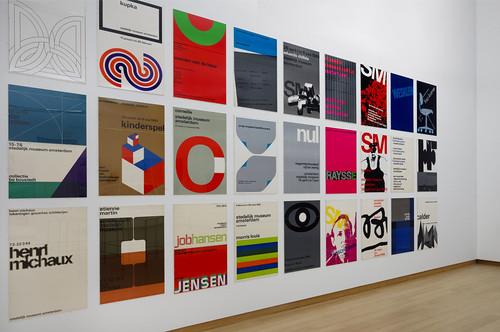 Gallery shot (6), Wim Crouwel–Mr.Gridnik, Stedelijk Museum Amsterdam. Photo–Gert Jan van Rooij