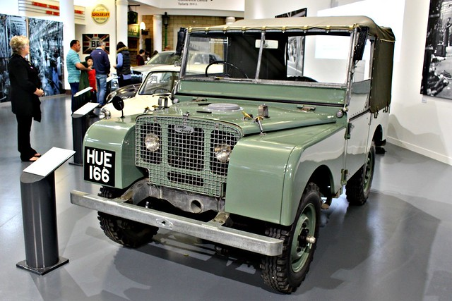 026 Land Rover Series 1 (1st pre-production model) (1948) HUE 166