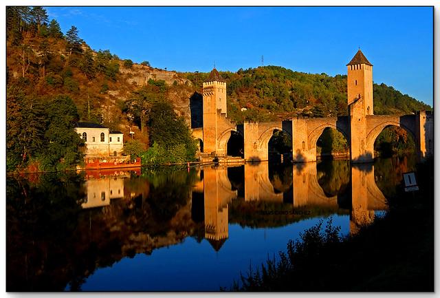 Pont de Balandras, Caors (Lot, France)