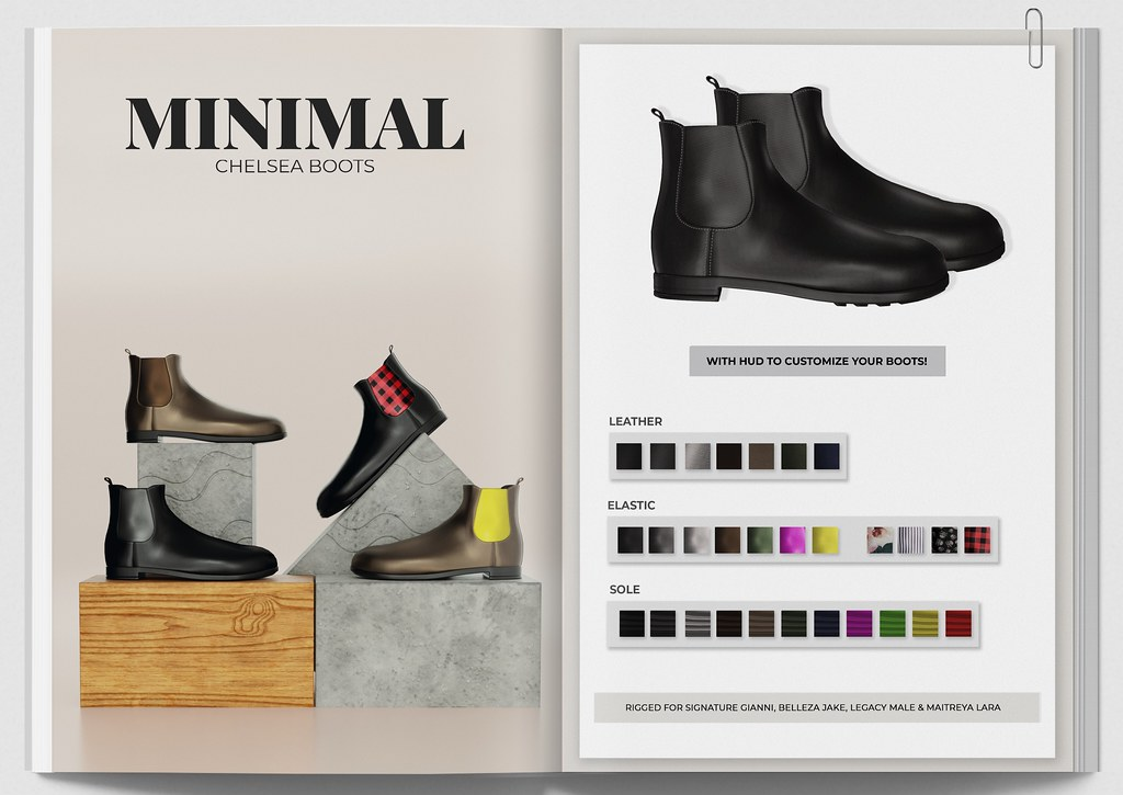 MINIMAL – Chelsea Boots