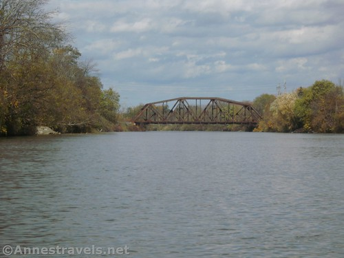 The CSX bridge over the Genesee River, Rochester, New York