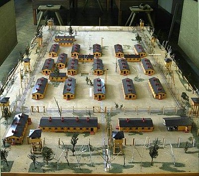 Model Stalag Luft_III used in the film.