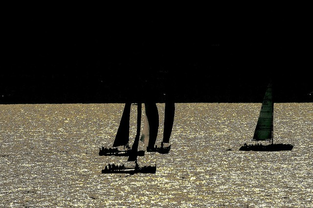 Sailing by Moonlight
