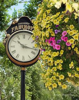 City of Fairhope historic clock.