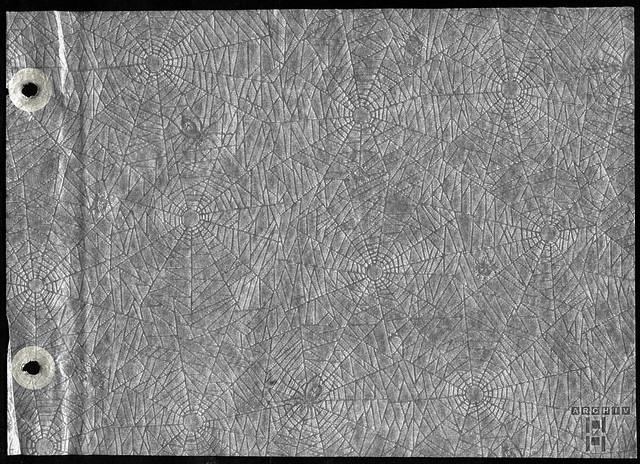 ArchivTappenX216 Album s, Seidenpapier, Zwischenseite, 1930-1950er