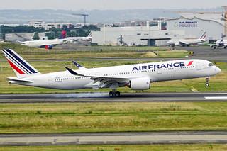 Air France 6th Airbus A350-900