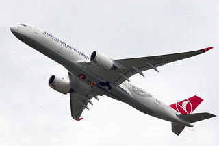 Turkish Airlines' first Airbus A350-900