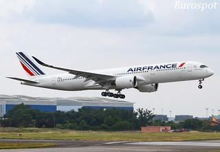 F-WZNB Airbus A350 Air France