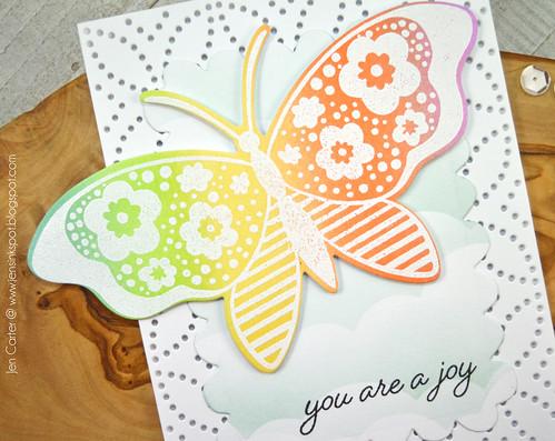Wings of Joy Rainbow JDC Closeup