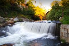 Senda de los molinos, waterfall path