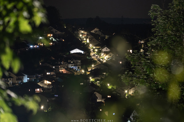 Dilsberg Residential Area at Night - May 2020 I