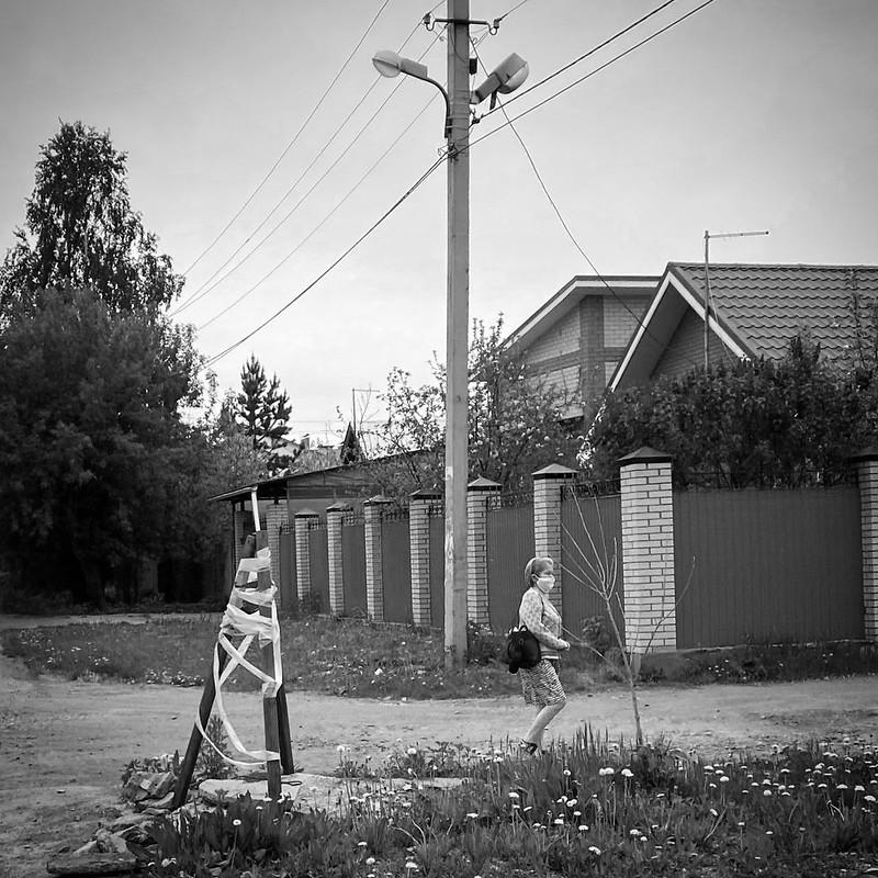 Поселок в мае