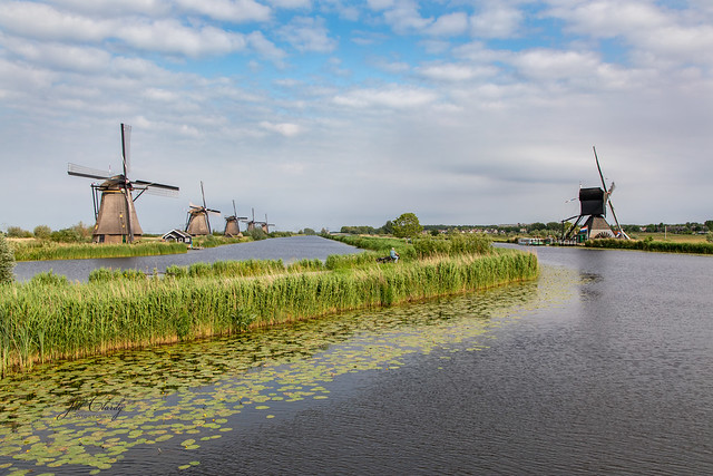 Armchair Traveling - Kinderdijk Windmills, Holland