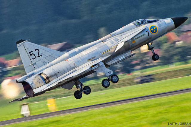 Сааб 37 «Вигген» / Saab 37 Viggen / ساب ٣٧ فيغين