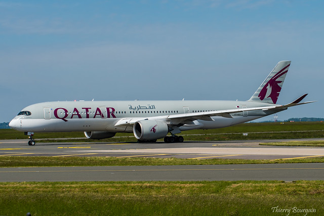 [CDG] Qatar-Airways Airbus A350-941 _ A7-ALA