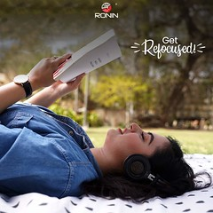 Music + Reading = a soulful therapy.  Shop now: https://bit.ly/2ZLClK6  #RoninPK #Gadgets #Headphones #Tech #Pakistan