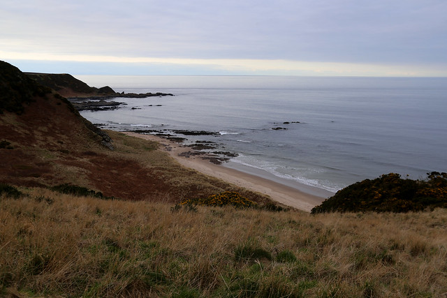 The coast path east of Cullen