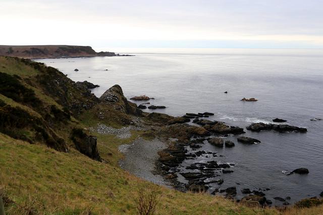 The coast near Sandend