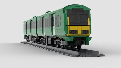 Lego Irish Rail 29000 DMU, new livery