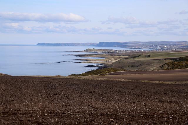 The coast east of Portsoy