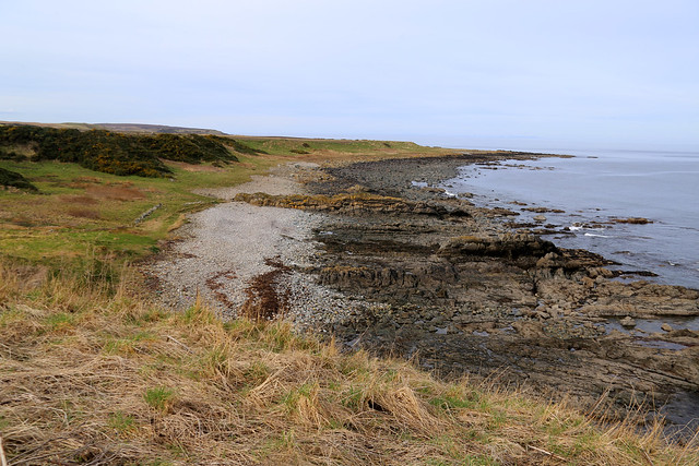 The coast west of Whitehills