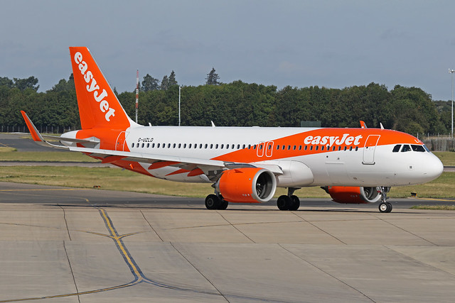 G-UZLD Airbus A320-251N Easyjet Airline Company Stansted 23rd August 2019