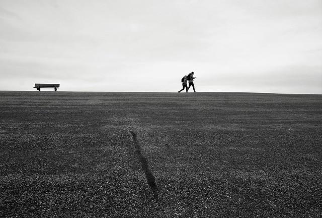 Dike walking