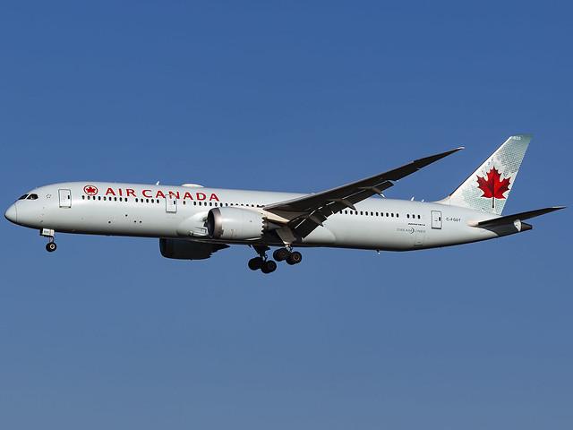 Air Canada   Boeing 787-9 Dreamliner   C-FGDT