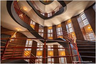 Staircase 1 In Sprinkenhof Hamburg
