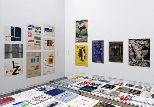 Gallery shot, Wim Crouwel–Mr.Gridnik, Stedelijk Museum Amsterdam. Photo–Gert Jan van Rooij