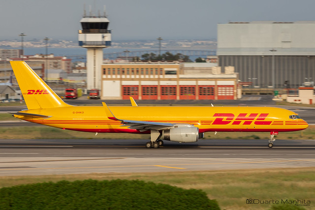 DHL / Boeing 757-200 / G-DHKO