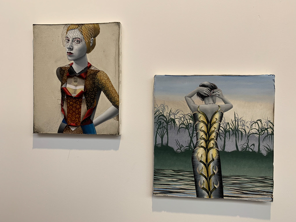 Works displayed in Art Brussels