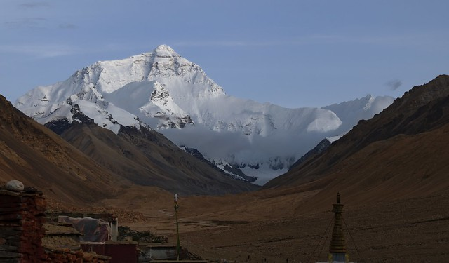 Mt Everest, Tibet 2019