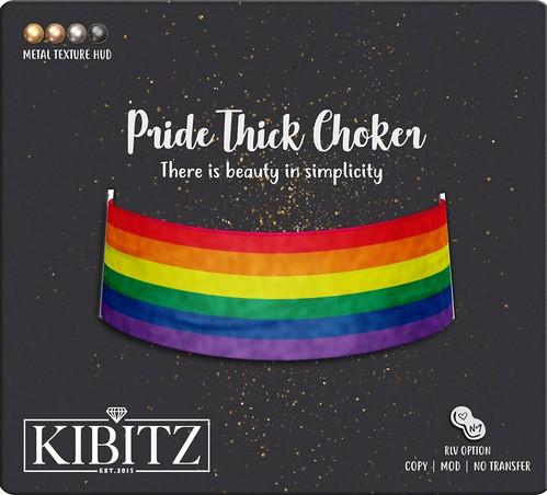 kibitz pride choker