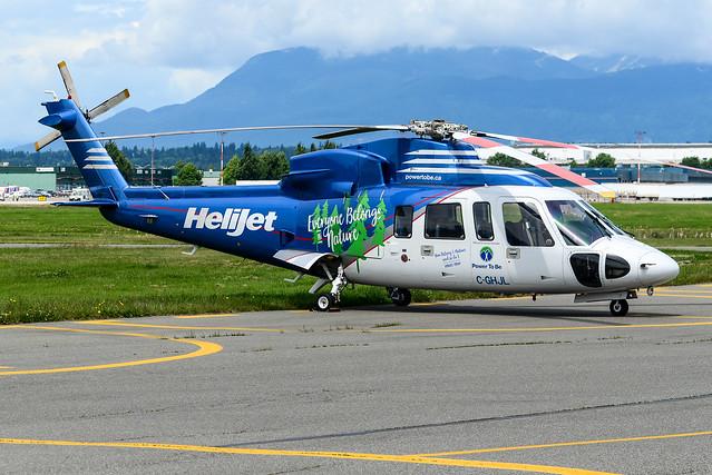 CYVR - Helijet Sikorsky S-76C C-GHJL
