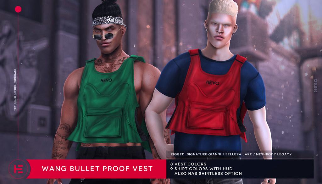 HEVO – Wang Bullet Proof Vest