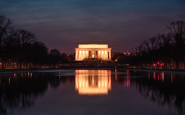 Lincoln Memorial at Blue Hour