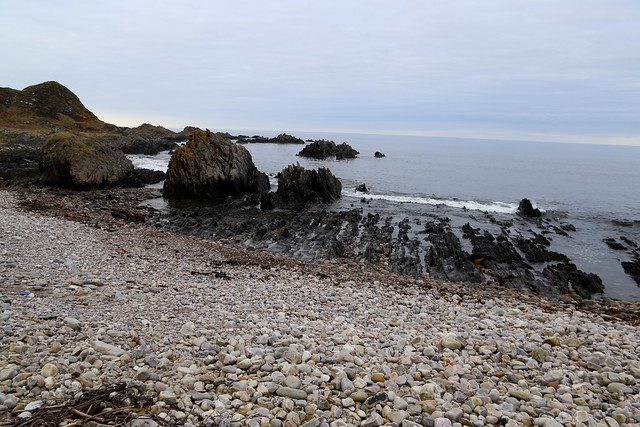 The coast east of Cullen