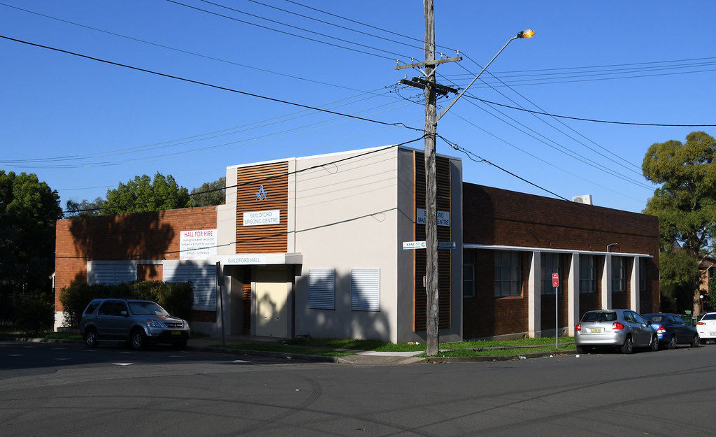 Guildford Masonic Centre, Guilford, Sydney, NSW.