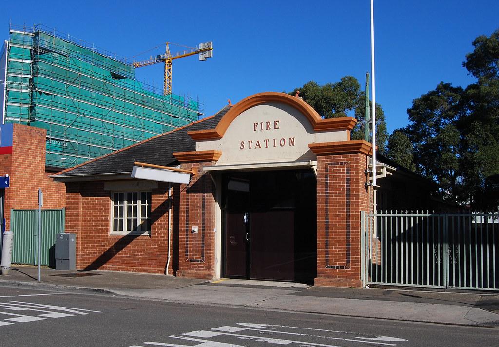 Former Fire Station, Fairfield, Sydney, NSW.