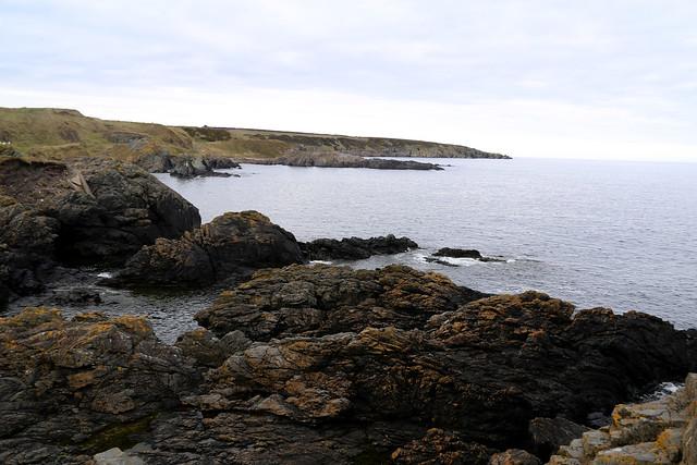 The coast near Portsoy