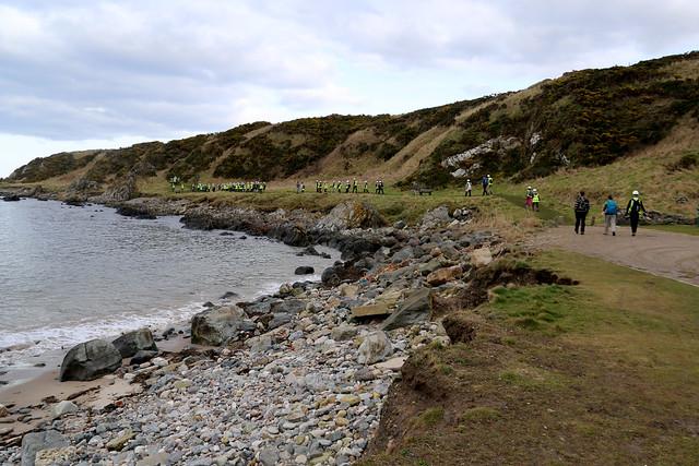 The coast at Portsoy