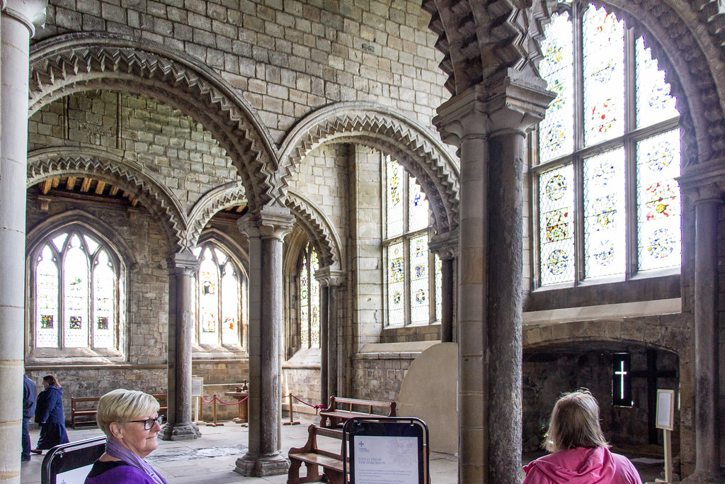 Galilee Chapel, Durham Cathedral, Durham, England